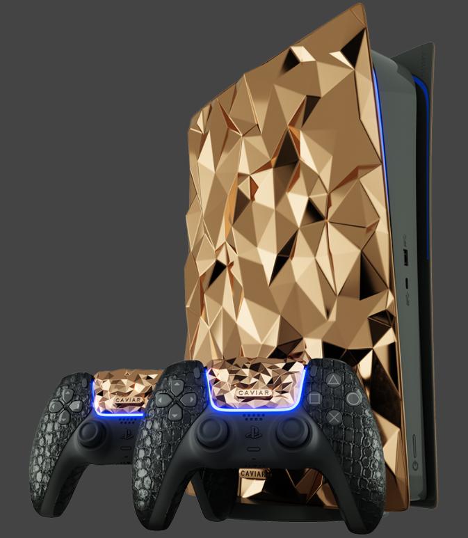有錢人的科技產品就是跟我們不一樣!純金打造的 AirPods Max 要價 300 萬台幣 還有黃金豪華版的 PS5