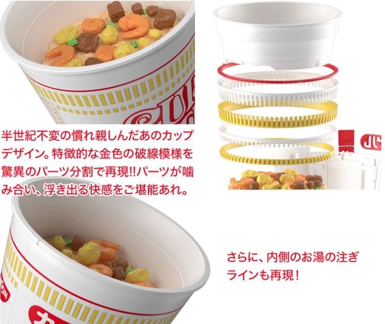 這碗日清泡麵要價 600 多台幣?原來它是萬代跟日清合作推出的 1:1 仿真模型啊!