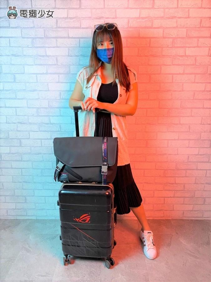 開箱|潮!ROG SLASH 系列 配件 包包、帽子超有電競感 防潑水材質好加分