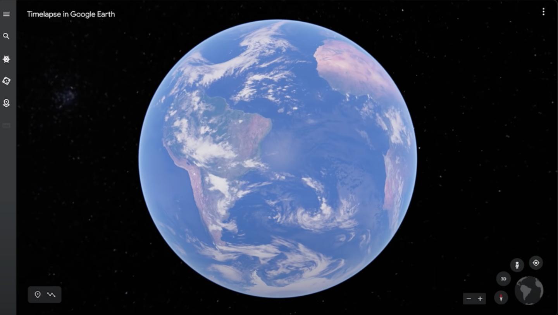 Google Earth 全新『 縮時錄影 』功能上線!帶你一覽地球 37 年來的各式樣貌