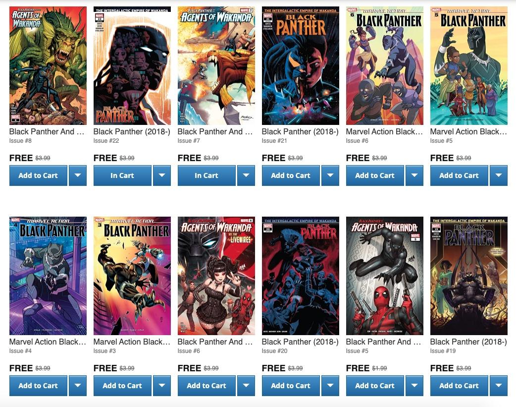 緬懷《黑豹》男主角 漫畫發行平台Comixology 限時免費開放 200 多本《黑豹》漫畫 讓大家收藏!