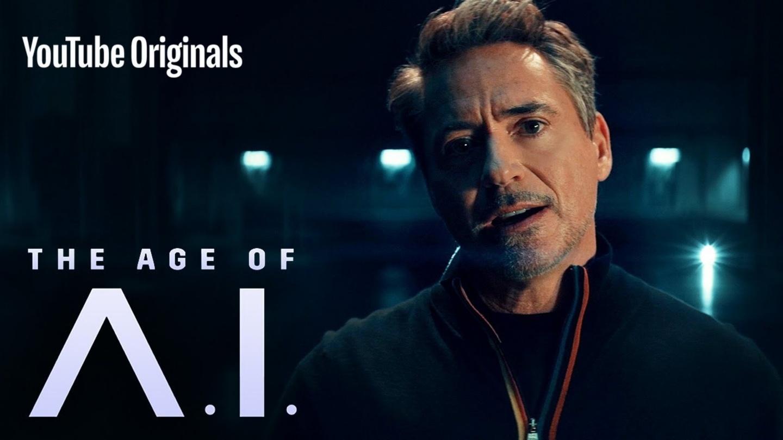 『 鋼鐵人 』從電影跑來主持啦!小勞勃道尼主持 YouTube 原創新節目《The Age of A.I.》探討科技議題